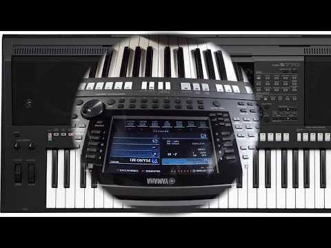 YAMAHA PSR S 770 PROGRAMADO con ritmos y algunos  samples