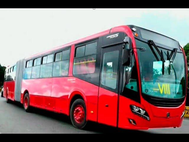 Uno de los 336 buses nuevos de Transmilenio se varó | Noticias Caracol