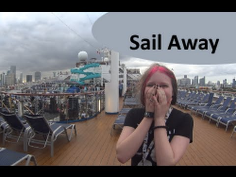 Sail Away, Dinner, & Secret Decks ~ Carnival Cruise Vacation Vlog [ep4]
