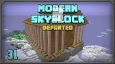 Modern Skyblock 3 EP33 Industrial Foregoing Laser Drill +