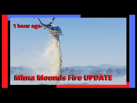 1 Week Ago Mima Mounds Fire 2020 UPDATE South Of Olympia, Washington.