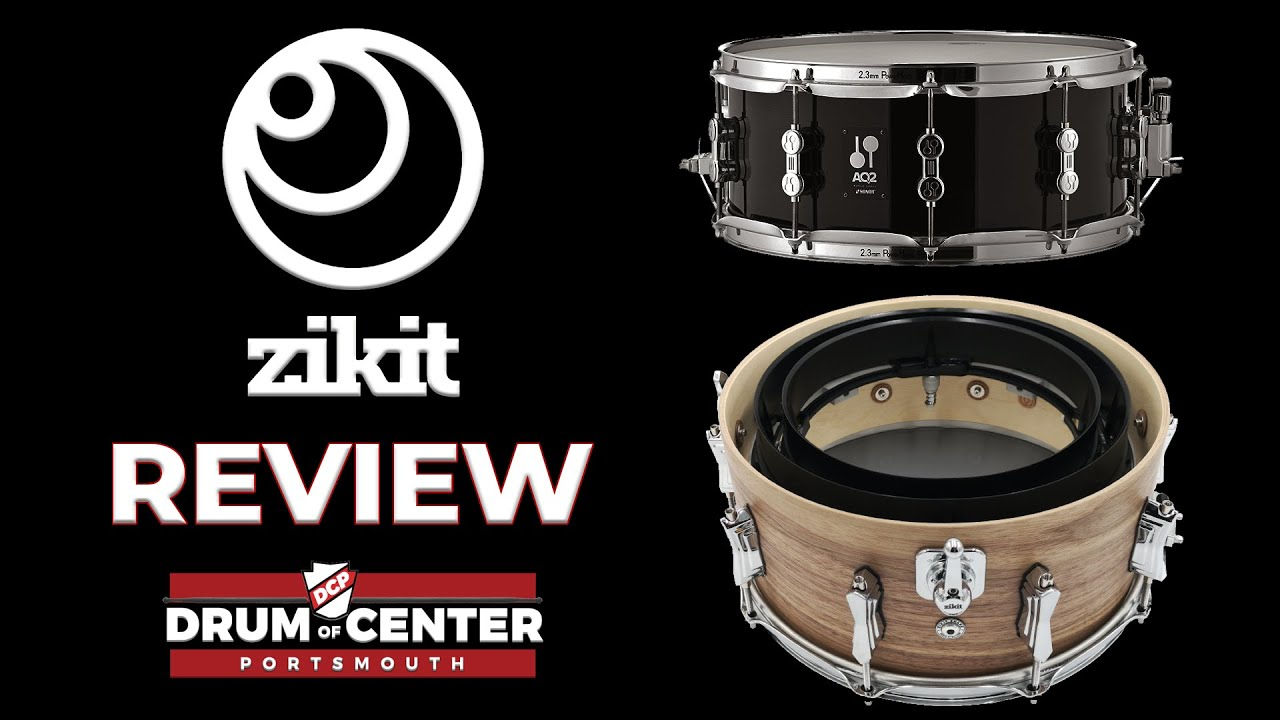 Download Zikit Snare Drums Review - Sonor AQ2 and British Drum Co.