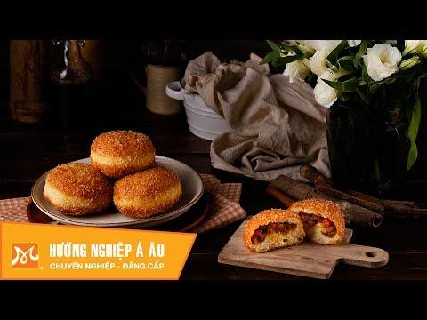 Cách làm bánh mì nhân Cà ri Curry Bread - Học làm bánh Nhật