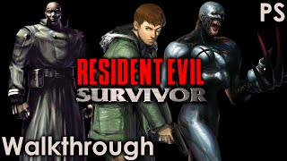 Resident Evil Survivor Walkthrough