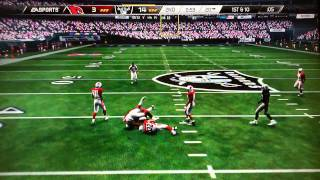 Madden 15 Career Mode- Big game for Ausberry!