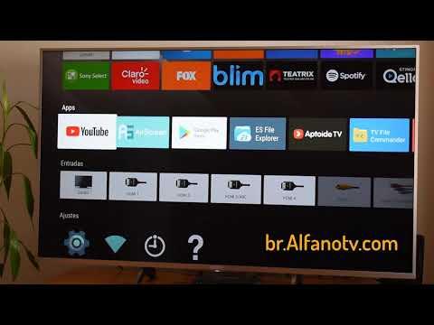 Como Instalar O Google Play Store Na Sua Sony Smart TV E Baixar Jogos E Apps