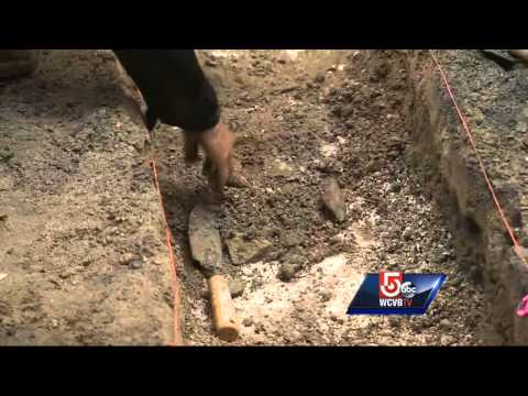 Archaeological dig uncovers historic artifacts at Old City Hall