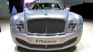 2014 Bentley Mulsanne - Exterior and Interior Walkaround - 2014 Detroit Auto Show