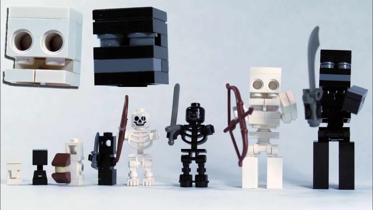 LEGO Skeleton Horse And Skeleton Minifigure With Sword