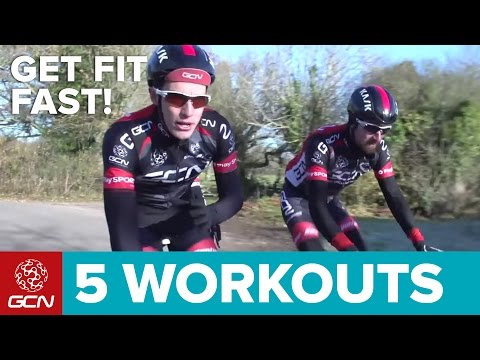 Get Fit Fast: 5 Quick Road Bike Workouts