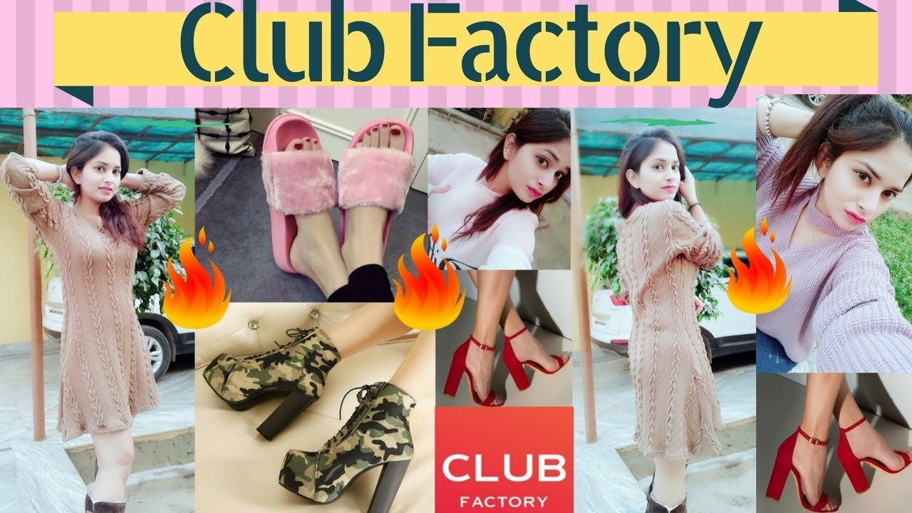 fcdbeee2f9e Club Factory Winter Try-On Haul