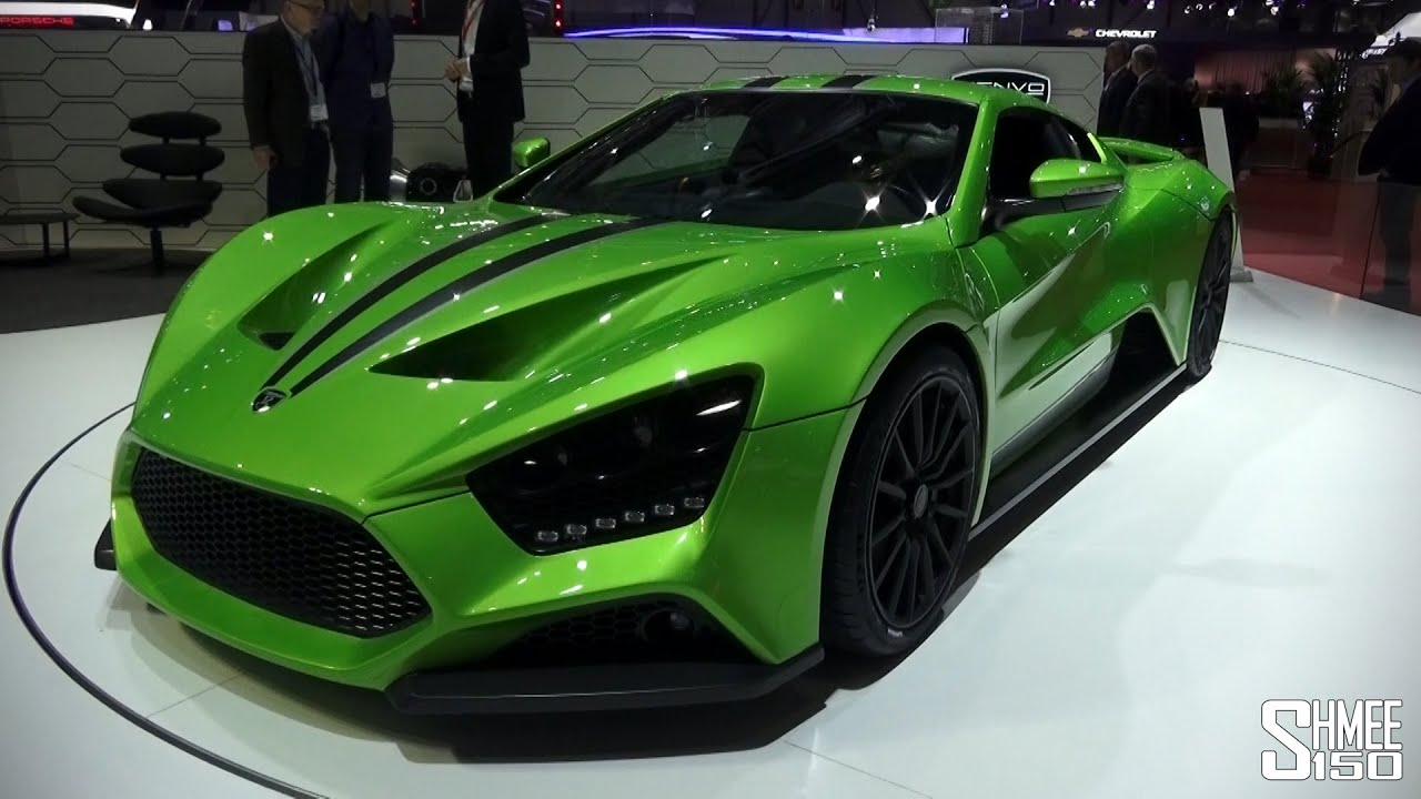 First Look Green 2015 Zenvo St1 Geneva 2015 Youtube