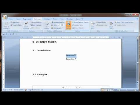 Microsoft Word - Heading formatting and table of contents