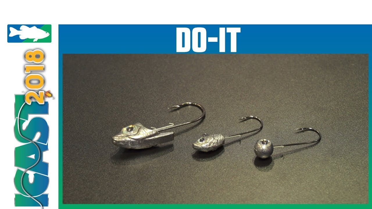 Do-It Free Stylin' Jig, Diner Shiner & Swimbait Head II Mold with Randy  Howell | iCast 2018