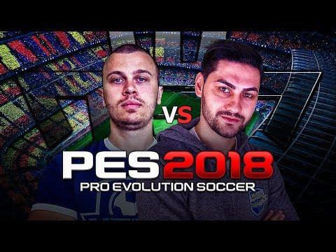 PLAYING PES 2018 vs KRASI !!! Ovvy vs Krasi - FORMER PRO FIFA PLAYERS PLAYING PRO EVO SOCCER 2018