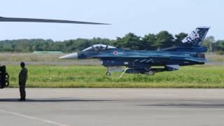 航空自衛隊F15J、F2A戦闘機帰投/2014海上自衛隊八戸基地57周年