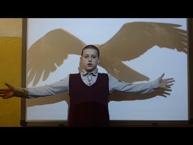 Изображение предпросмотра прочтения – НикитаКуликов читает произведение «С поляны коршун поднялся…» Ф.И.Тютчева