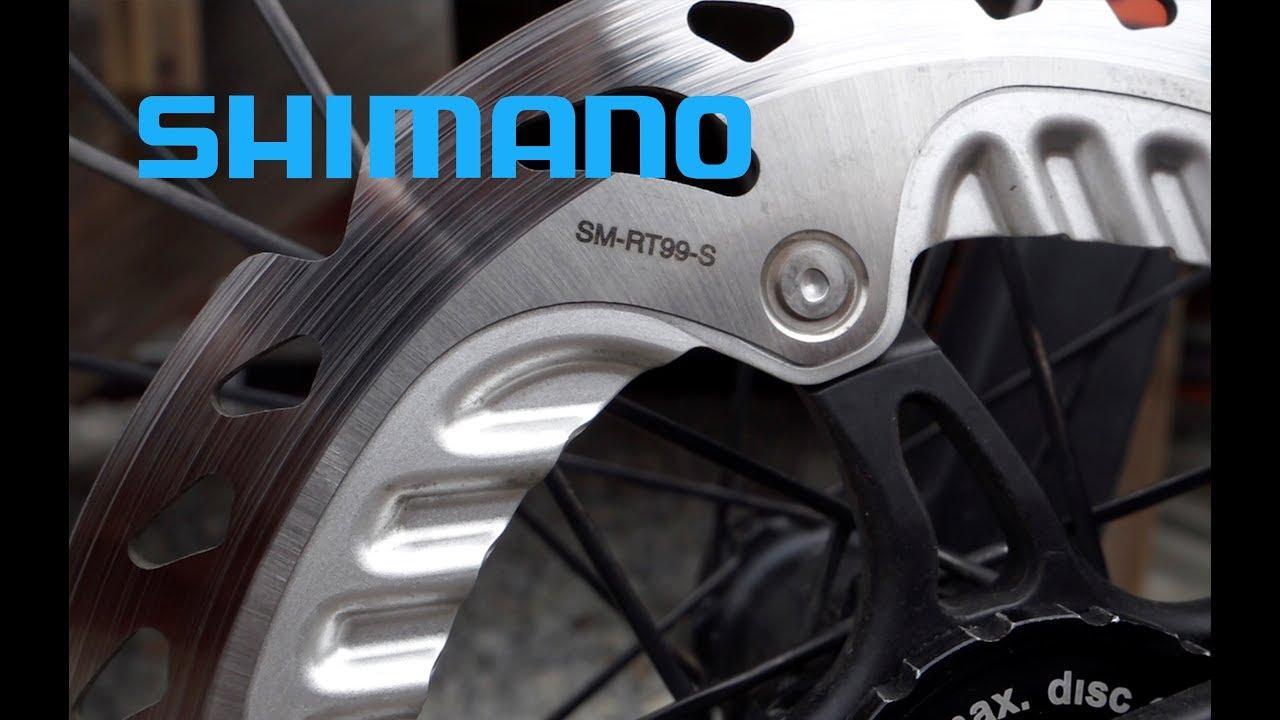 New 203mm Shimano XTR Saint Ice-Tech SM RT-99-L Center Lock Disc Rotor
