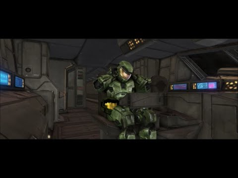 Halo 1 Master Chief Taking His Helmet Off In Anniversary Graphics