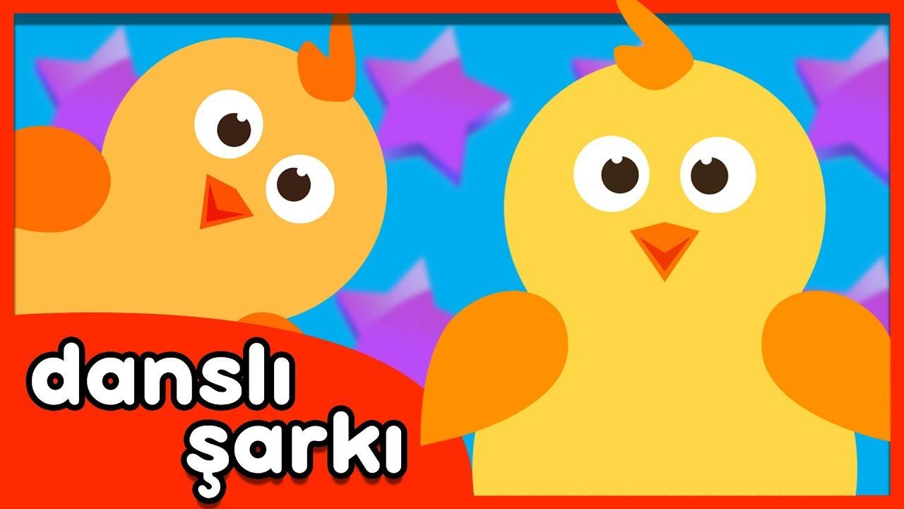 Civciv Dansı - Eğlenceli Çocuk Dans Şarkısı / Chicken Dance