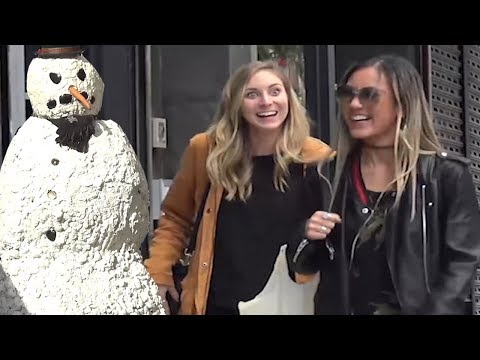 Scary Snowman Prank Tour 2018 Full Season