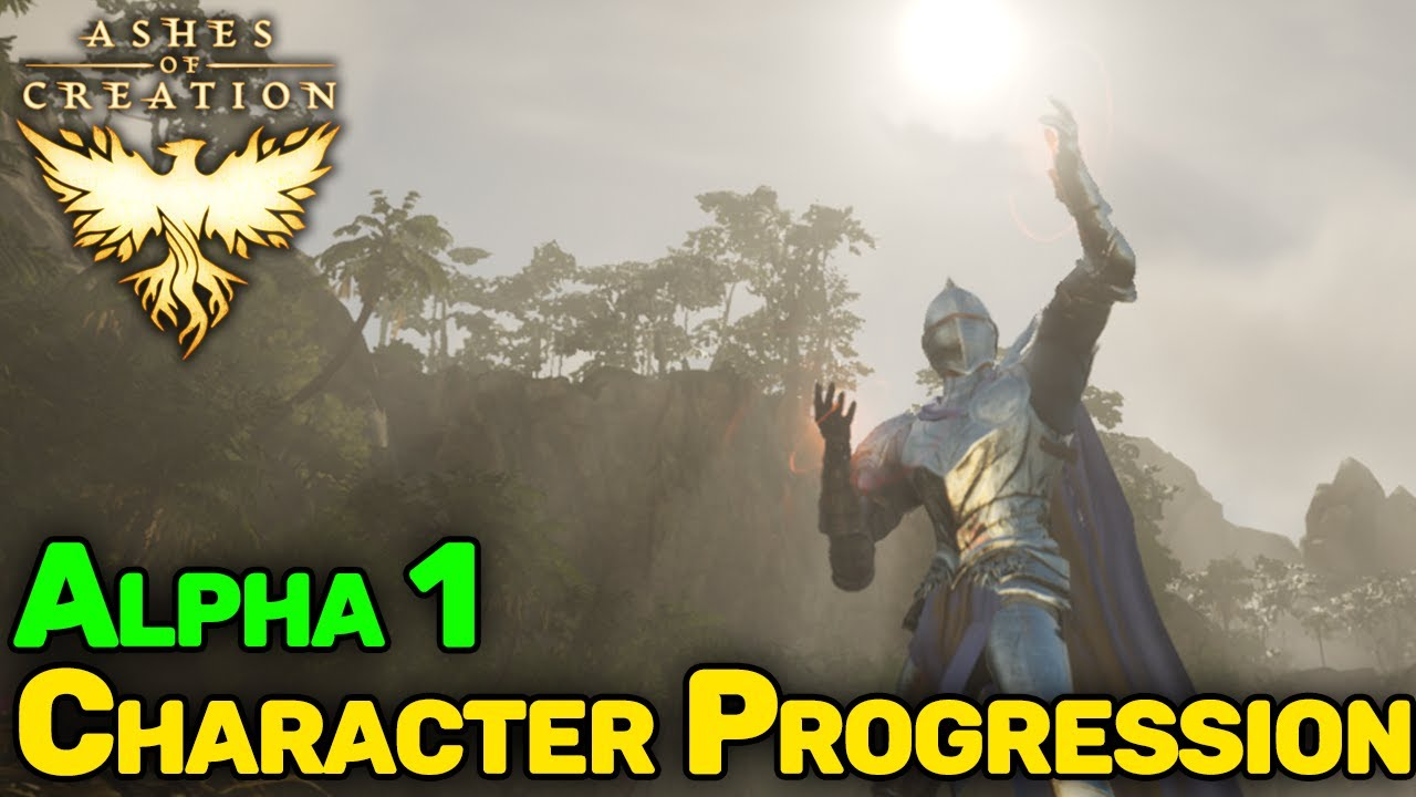 Leveling in Ashes of Creation Alpha 1