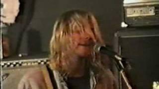 Nirvana - Sappy live