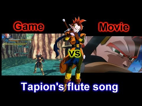 Dragon ball xenoverse 2- Tapion's flute song comparison