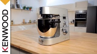Kenwood Cooking Chef Kitchen Machine | My First Recipes
