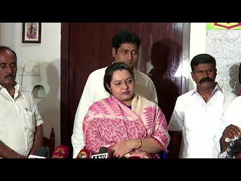 Deepa | sasikala & ttv dinakaran supporters are hidden in my party | j deepa | tamil news | redpix