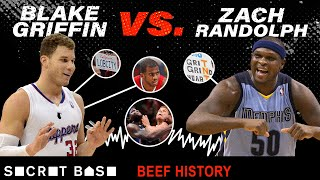 Zach Randolph attacked Blake Griffin over and over until they had beef