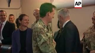 US Defence Sec meets with senior US commanders in Baghdad