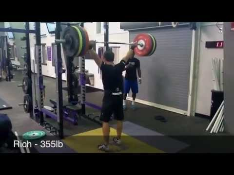 CrossFit - Rich Froning and CrossFit Cookeville on WOD 111030