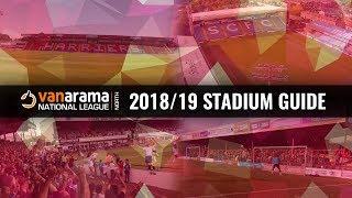 Vanarama National League North Stadiums 2018/19