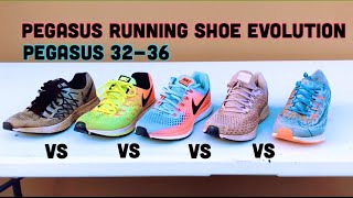 evolution Of The Nike Pegasus Running Shoes *32-33-34-45-36