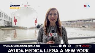 Ayuda medica llega a New York