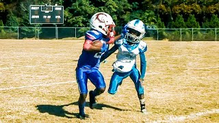 🔥GA Thoroughbreds 8U vs Welcome All Panthers Youth Football