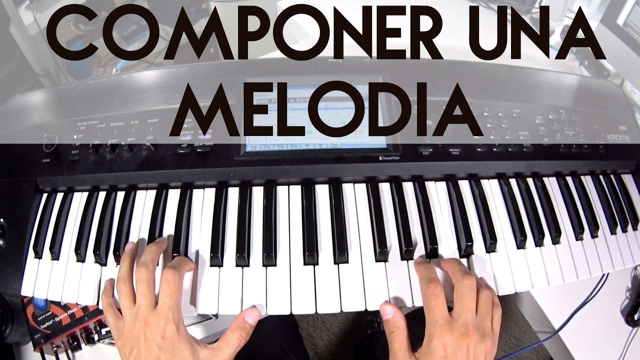 Componer Una Melodia En Piano O Teclado Youtube