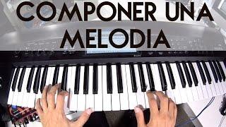 COMPONER UNA MELODIA EN PIANO O TECLADO