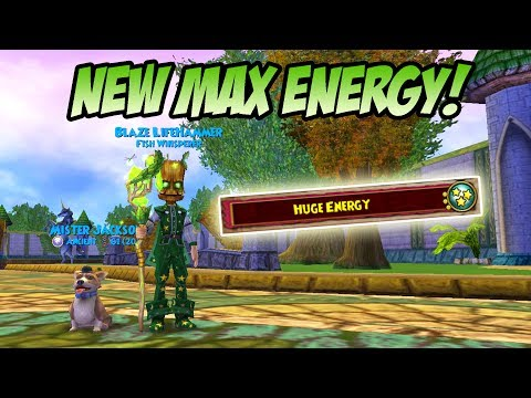 Wizard101: NEW TALENT DISCOVERED! - How to Get More Energy