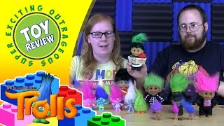 Troll Doll Collection including new Dreamworks Trolls - Toy Review