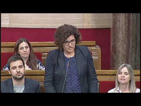 Rosa Maria Ibarra pregunta sobre la planta judicial a Catalunya