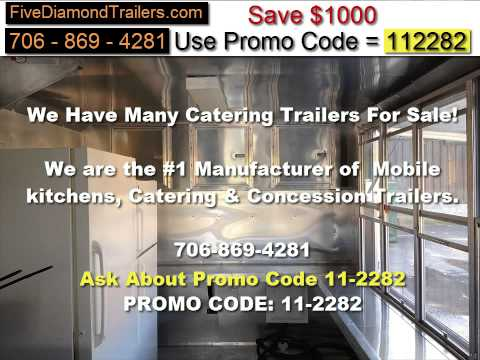 Used concession trailers for sale in TEXAS!!!