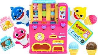아기상어 아이스크림 자판기 장난감 Baby Shark …