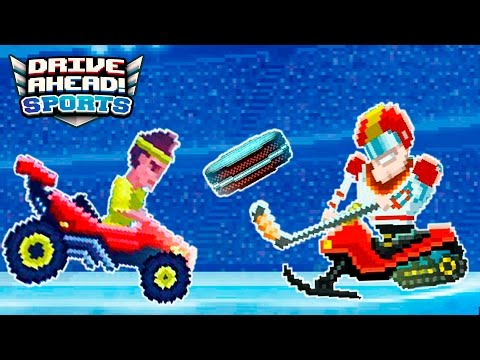 БЕЗУМНЫЕ ИГРЫ! Drive Ahead Sports Мульт игра для детей про соревнования на ТАЧКАХ и МАШИНКАХ