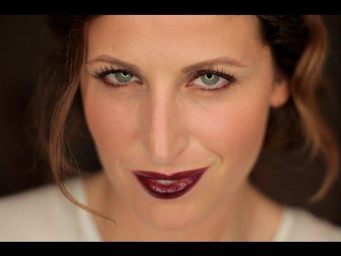 Makeup Tutorial Trucco Plum Lips Trend