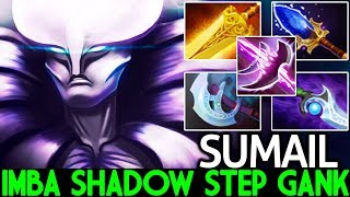 SUMAIL [Spectre] Imba Ganking Scepter Shadow Step 7.22 Dota 2