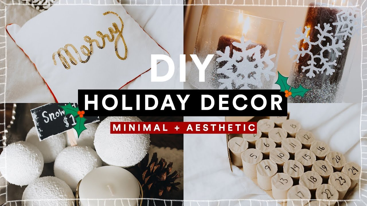 DIY Christmas Room Decor + GIVEAWAY! Cheap + Aesthetic ...