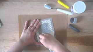 using stencils with Gelatos