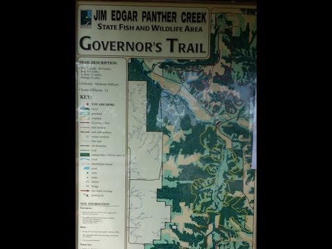 Jim Edgar - Panther Creek State Park Central IL
